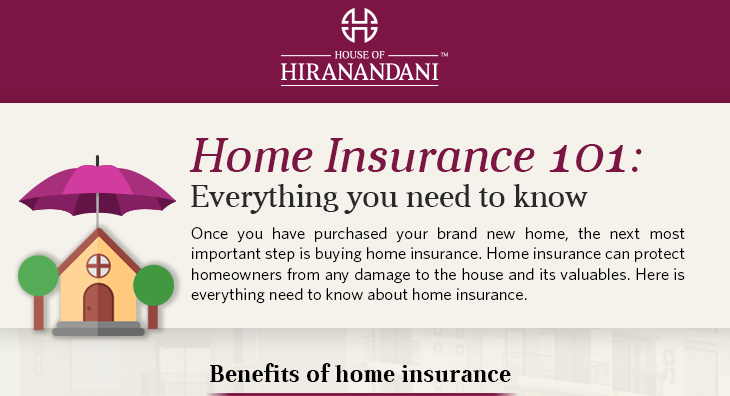 Home Insurance 101: Everything you need to know