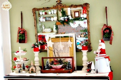 Add panache to the holiday decor in your heaven