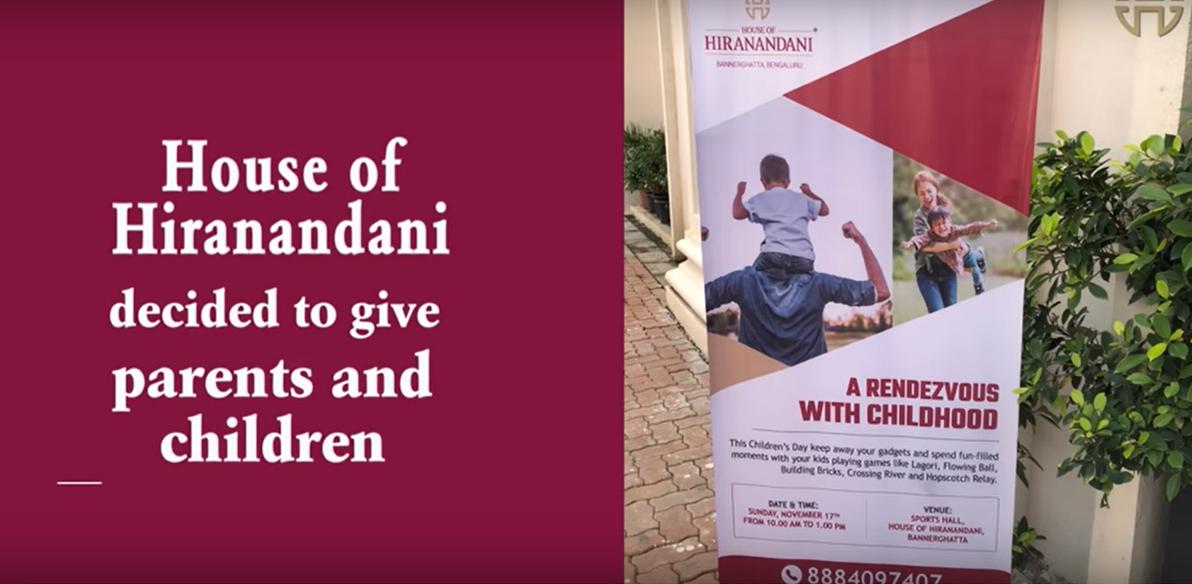 Children's day celebration at House of Hiranandani