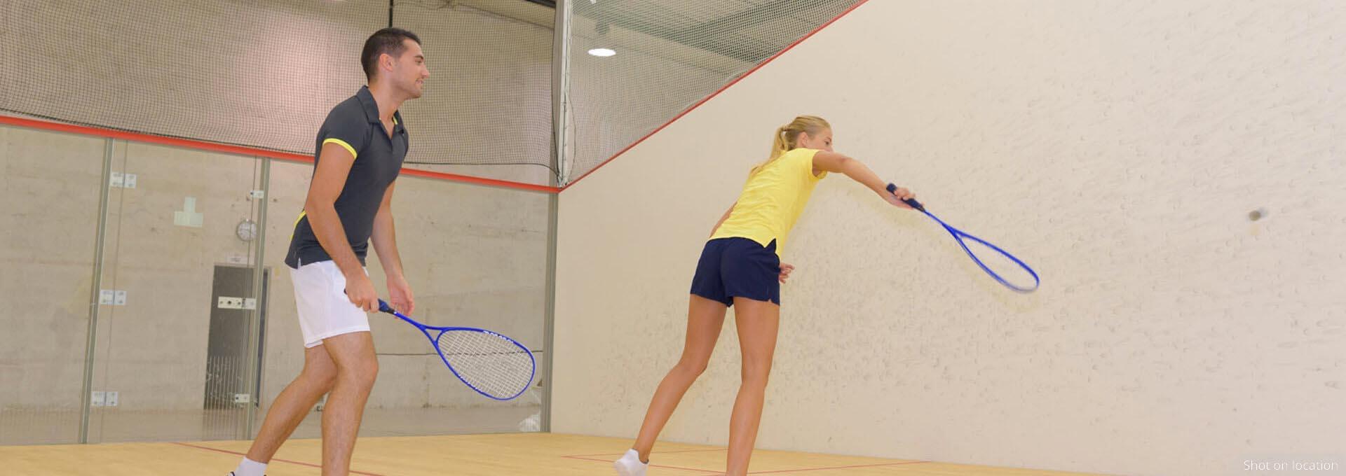 Squash court in Calgary by House of Hiranandani in Devanahalli, Bengaluru