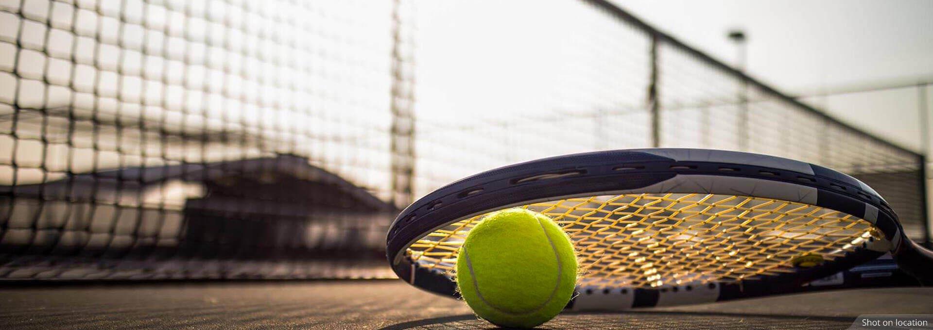 Lawn Tennis court near Villas by House of Hiranandani in Devanahalli, Bengaluru