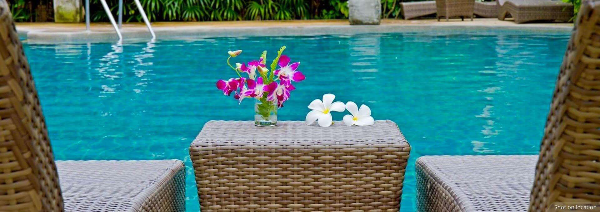 Swimming Pool near Villas by House of Hiranandani in Devanahalli, Bengaluru
