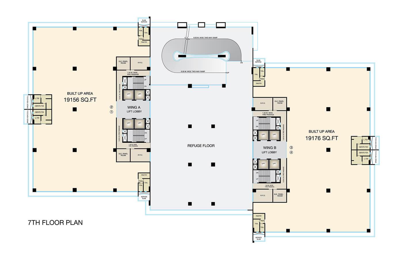 Fulcrum-7th-Floor-Plan