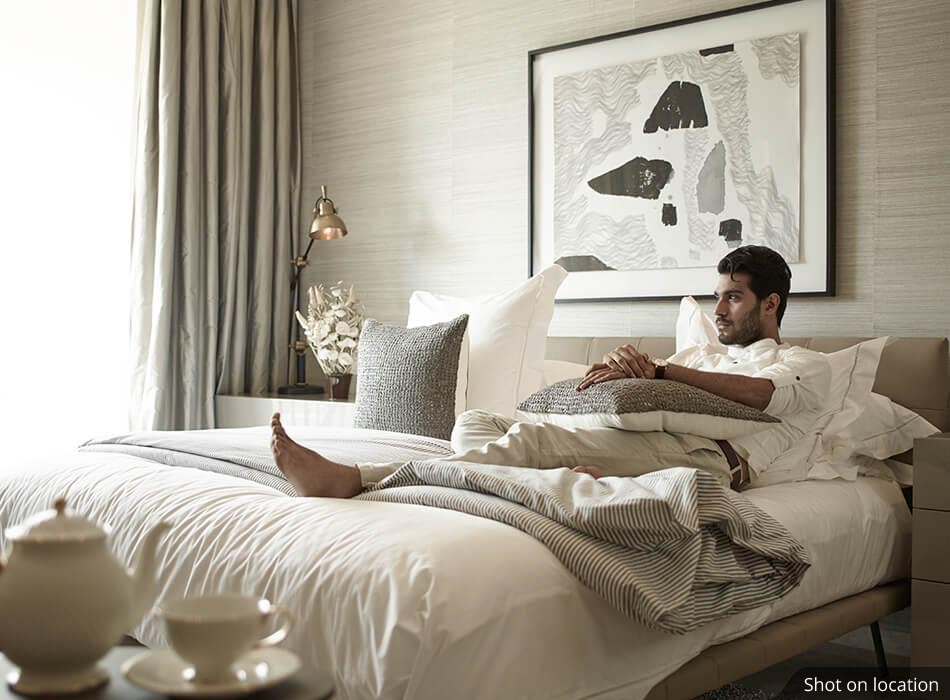 Bedroom 1 (2 ) in Amalfi by House of Hirandani in OMR, Chennai