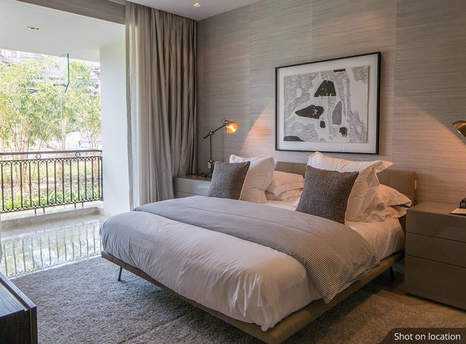 Bedroom 1 (1 ) in Bayview by House of Hirandani in OMR, Chennai