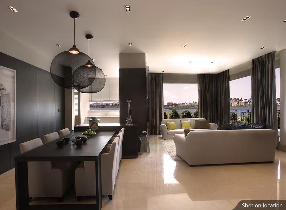 Living Room 1 (5 ) in Club Meadows  by House of Hirandani in Bannerghatta, Bengaluru