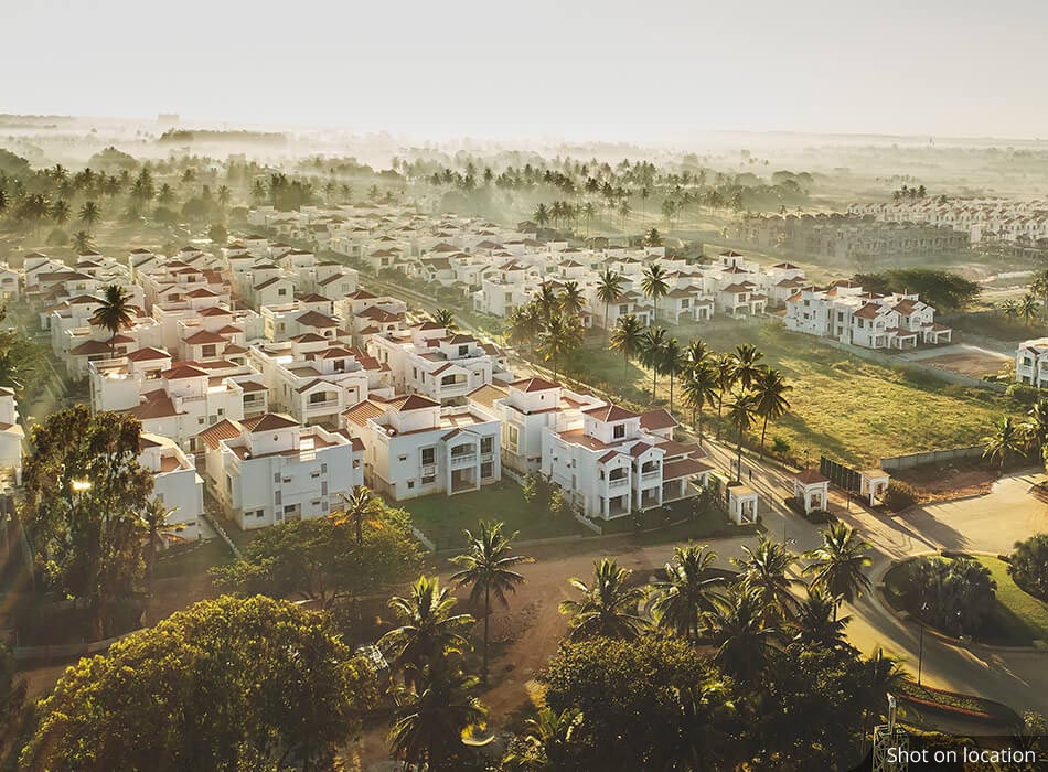 Aerial View (1 )of Crossgate by House of Hirandani in Devanahalli, Bengaluru