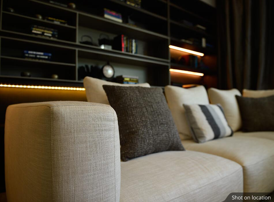 Living room 1 (1 ) in Edina by House of Hirandani in OMR, Chennai