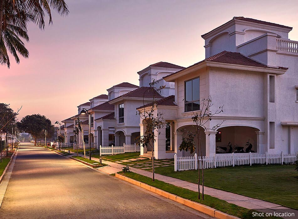 Cottages in devanahalli By House of Hiranandani