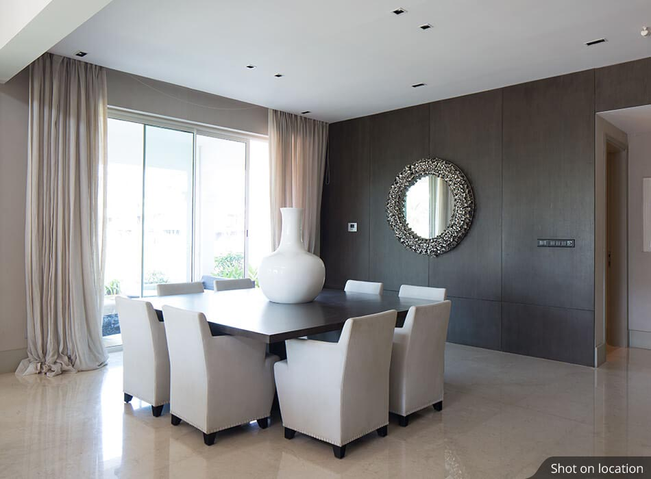 Dining Area in Villas by House of Hirandani in Devanahalli, Bengaluru