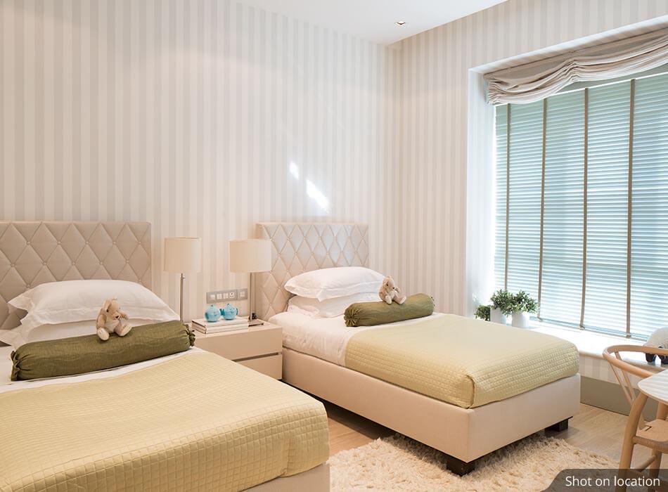 Bedroom in Villas by House of Hirandani in Devanahalli, Bengaluru
