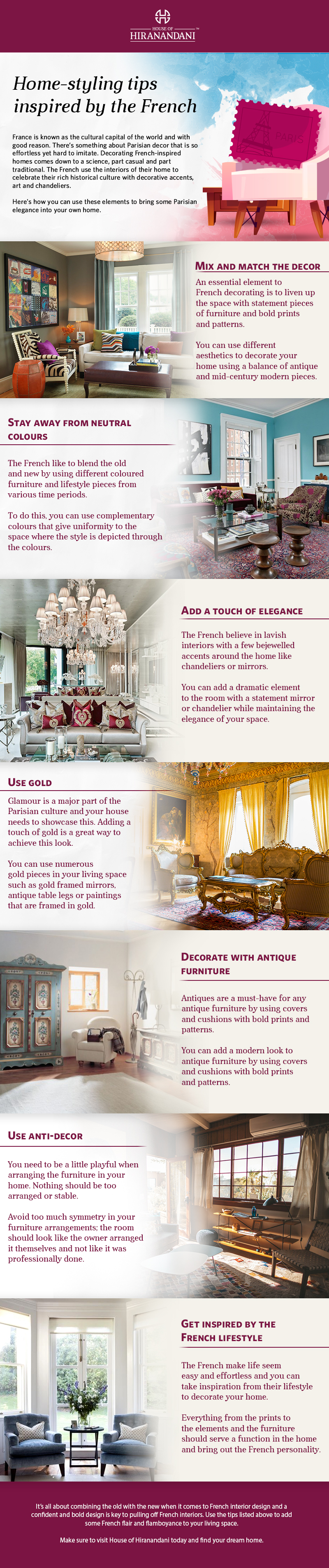 Home-styling tips inspired by the French