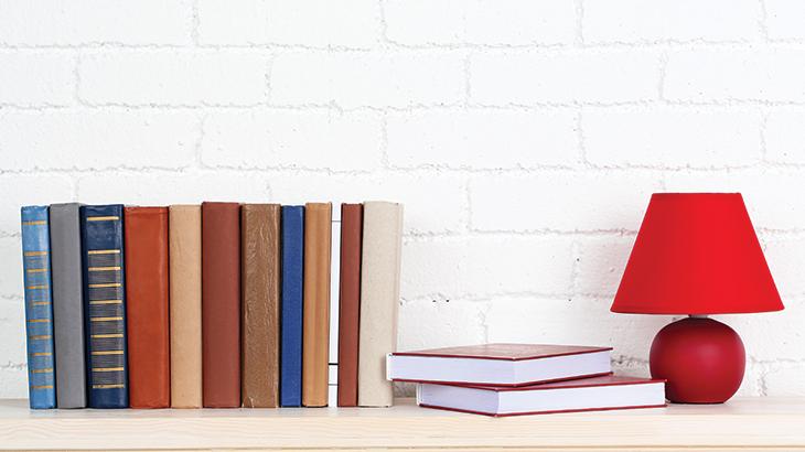Proper book arrangement