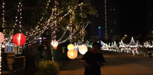 Chennai Lighting Festival at House of Hiranandani