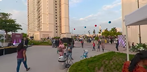 A 360 experience of the Kite fest carnival at House of Hiranandani, Bannerghatta